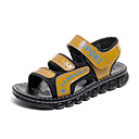 ieftine Pantofi Băieți-Băieți Pantofi Tul / PU Vară Confortabili Sandale Bandă Magică pentru Negru / Albastru Închis / Galben