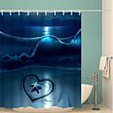 tanie Zasłony prysznicowe-Zasłony i haczyki kąpielowe Nowoczesny Poliester Nowość Wodoodporny Łazienka