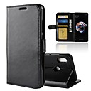 cheap Keyboards-Case For Xiaomi Redmi Note 5 Pro Redmi 5 Plus Card Holder Wallet with Stand Flip Magnetic Full Body Cases Solid Colored Hard PU Leather