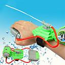 billige Kjeksverktøy-Mini Wrist Squirt Water Gun Spredere Strand Tema Stress og angst relief Foreldre-barninteraksjon Plastskall Gutt Jente Leketøy Gave 1 pcs
