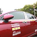 preiswerte Wand-Sticker-Silber Auto Aufkleber Geschäftlich Fensterverkleidung keine Angaben Fensterverkleidung