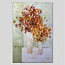 preiswerte Stillleben Gemälde-Hang-Ölgemälde Handgemalte - Stillleben Modern Segeltuch