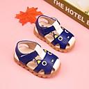 baratos Sapatos de Bebês-Para Meninos / Para Meninas Sapatos Couro Ecológico Verão Conforto / Primeiros Passos Sandálias para Amarelo / Azul / Rosa claro