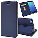 billige Køkkenredskaber-Etui Til Huawei P20 / P20 lite Pung / Kortholder / Flip Fuldt etui Ensfarvet Hårdt PU Læder for Huawei P20 / Huawei P20 lite / P10 Plus / P10 Lite