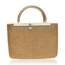 cheap Clutches & Evening Bags-Women's Bags Tote Crystals for Casual Gold / Silver