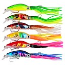 cheap Fishing Lures & Flies-6pcs pcs Hard Bait Octopus Trolling Lure Hard Bait ABS Outdoor Octupus Sports & Outdoors Sea Fishing Bait Casting Spinning Jigging