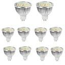 cheap LED Filament Bulbs-10pcs 6W 550lm MR16 LED Spotlight 48 LED Beads SMD 2835 Decorative Warm White Cold White 12V