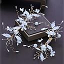 ieftine Accesorii Păr de Petrecerere-Aliaj Ornamente de Cap cu Cristal / Flori din Satin 1 buc Nuntă / Ocazie specială Diadema