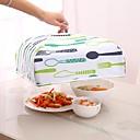 billige Overføringsklistremerker til neglekunst-gjenbrukbar kjøkken matdeksel holde mat varm folding aluminiumsfolie deksel oppvask isolasjon kjøkkennett anti-fly mygg