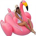 baratos Bóias & Animais Infláveis de Piscina-Flamingo Boias de piscina infláveis Boias de Piscina Exterior PVC / Vinil 1pcs Crianças Adulto Todos