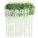 abordables Accesorios de Limpieza de la Cocina-Flores Artificiales 1 Rama Estilo Pastoral Plantas Flor de Pared