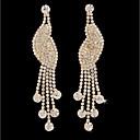 cheap Earrings-Women's Tassel Stud Earrings / Hoop Earrings - Gold Plated Bird Simple, Fashion Gold For Wedding / Daily