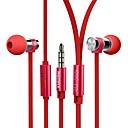 hesapli Dövme İğneleri-565i Kablolu Kulaklıklar Pizoelektrik Plastik Cep Telefonu Kulaklık kulaklık