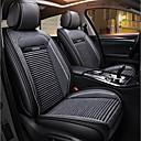 זול כיסויי למושבים לרכב-ODEER כיסויים אפור טֶקסטִיל עור PU נפוץ for אוניברסלי כל השנים כל הדגמים