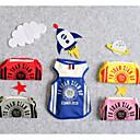 abordables Ropa para Perro-Perros Gatos Camiseta Ropa para Perro Británico Refranes y citas Amarillo Rojo Azul Terileno Disfraz Para mascotas Hombre Deportes y