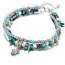 cheap Bracelets-Women's Strand Bracelet - Turtle, Starfish Ethnic Bracelet Light Blue For Gift / Daily