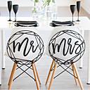 baratos Decorações para Casamento-Decoração de Casamento Original De madeira Decorações do casamento Casamento Tema Jardim / Casamento Todas as Estações