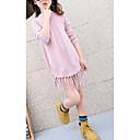 זול שמלות לבנות-בנות מכנסיים - אחיד סגנון פורמלי ורוד מסמיק / כותנה / חמוד