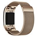 preiswerte Smart Uhr Accessoires-Uhrenarmband für Fitbit Charge 2 Fitbit Mailänder Schleife Edelstahl Handschlaufe