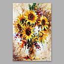 baratos Pinturas Paisagens-Pintura a Óleo Pintados à mão - Floral / Botânico Modern Others