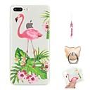 hesapli iPhone Kılıfları-Pouzdro Uyumluluk Apple iPhone X / iPhone 8 Plus Temalı Arka Kapak Flamingo Yumuşak TPU için iPhone X / iPhone 8 Plus / iPhone 8