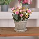 tanie Sztuczne kwiaty-Sztuczne Kwiaty 1 Gałąź Retro Róże Bukiety na stół