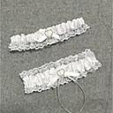 ieftine Jartiere de Nuntă-Șifon Satinat Stil Vintage Nunta Garter Cu Piatră Semiprețioasă / Inimă / Găuri Jartiere Nuntă / Party & Seară