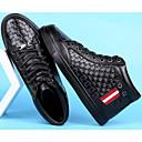 tanie Adidasy męskie-Męskie Komfortowe buty Skóra bydlęca Zima Adidasy Czarny