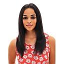 Χαμηλού Κόστους Περούκες από Ανθρώπινη Τρίχα-Αγνή Τρίχα 360 μετωπικής Περούκα Μέσο μέρος στυλ Βραζιλιάνικη Ίσιο Περούκα 150% Πυκνότητα μαλλιών με τα μαλλιά μωρών Γυναικεία Φυσική γραμμή των μαλλιών Φυσικό Γυναικεία Μακρύ Αλογορουρές Premierwigs