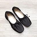 ieftine Pantofi de Balet-Pentru femei Pantofi de Balet Mătase Josi Toc Drept Pantofi de dans Auriu / Negru / Performanță / Antrenament