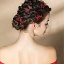 povoljno Dodaci za kosu-Til / Legura Ukosnica / Kosa za kosu s Cvjetni print 2kom Vjenčanje / Special Occasion Glava