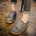 povoljno Ženske cipele bez vezica-Žene Kašmir Ljeto Udobne cipele Natikače i mokasinke Ravna potpetica Sive boje / Braon / Crvena