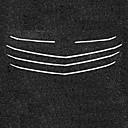 abordables Bombillas LED-5pcs Coche Decoración de la parrilla delantera del coche Negocios Tipo de pasta For Parrilla delantera del coche / Parte superior de la