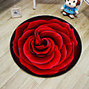 cheap Rugs-Area Rugs Casual Polyster, Round Superior Quality Rug / Non Skid