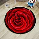 זול שטיחים-שטח שטיחים יום יומי polyster, עגולות איכות מעולה שָׁטִיחַ / החלקה ללא