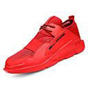 tanie Adidasy męskie-Męskie Komfortowe buty Sztuczna skóra / Tiul / PU Jesień Buty do lekkiej atletyki Bieganie Biały / Czarny / Czerwony
