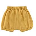 ieftine Pantaloni Bebeluși-Bebelus Unisex De Bază Mată Scurți / Copil