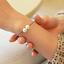 cheap Women's Sandals-Women's Pearl Freshwater Pearl Bracelet Bangles Cuff Bracelet - S925 Sterling Silver, Freshwater Pearl Sweet, Fashion, Elegant Bracelet Silver For Gift Daily