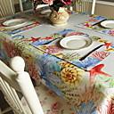 ieftine Veselă-Casual PVC / Netesute Pătrat Tăblițe masă Floral Decoratiuni de tabla 1 pcs