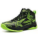 זול נעלי ילדים-בנים נעליים עור אביב קיץ נוחות נעלי אתלטיקה ריצה / כדורסל שרוכים ל אדום / ירוק / כחול