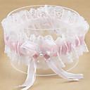 ieftine Jartiere de Nuntă-Poliester Contemporan / Nuntă Nunta Garter Cu Acrilic / Funde / Perlă Artificială Jartiere Nuntă / Petrecere / Seară