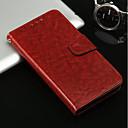 olcso Mobiltelefon tokok & Képernyő védők-Case Kompatibilitás Apple iPhone X / iPhone 8 Kártyatartó / Állvánnyal / Flip Héjtok Egyszínű Kemény PU bőr mert iPhone X / iPhone 8 Plus / iPhone 8