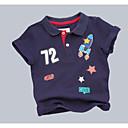 povoljno Kompletići za dječake-Djeca Dječaci Geometrijski oblici Kratkih rukava Majica s kratkim rukavima