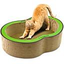 זול חול מתגבש לחתולים & מפה לגירוד-חתולים מיטות חיות מחמד ליינרים אחיד יצירתי מאמן מקל מתחים עמיד אדום ירוק עבור חיות מחמד