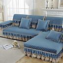 abordables Toalla de Cara-El amortiguador del sofá Un Color Estampado reactivo Algodón / Poliéster Fundas