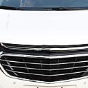 זול נורות לד ספוט-5pcs אוטו מכונית קישוט סורג הקדמי עסקים סוג הדבקה For החלק התחתון של הסורג הקדמי / החלק העליון של הסורג הקדמי For Chevrolet Equinox 2018