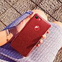 baratos Tablets-Capinha Para Apple iPhone X / iPhone 7 Glitter Brilhante Capa traseira Glitter Brilhante Macia silica Gel para iPhone X / iPhone 8 Plus /