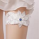 ieftine Jartiere de Nuntă-Dantelă Nuntă / Confecționat Manual Nunta Garter Cu Piatră Semiprețioasă Jartiere Nuntă / Petrecere
