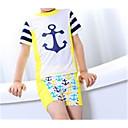 ieftine Costum de Baie Băieți-Copil Băieți Plajă Mată Costum Baie