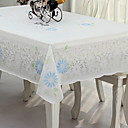 preiswerte Backformen-Landhaus Stil PVC Quadratisch Tischdecken Blumen Tischdekorationen 1 pcs
